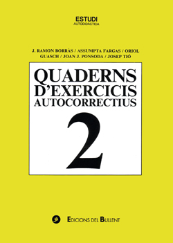 Quadern d'exercicis autocorrectius 2