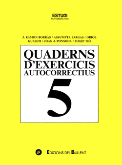 Quadern d'exercicis autocorrectius 5